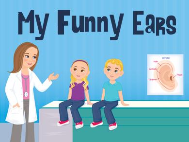 MY Funny Ears: Book & Website